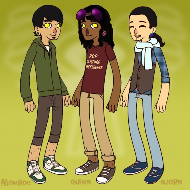 Misfits of Mischef: Hipster Gods