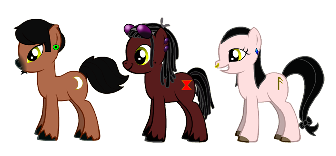 Misfits of Mischief: One Trick Pony (or 3)